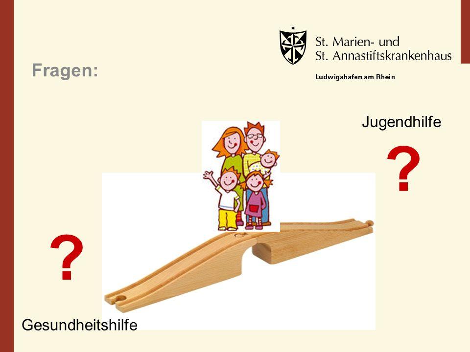 Fragen: ? ? Gesundheitshilfe Jugendhilfe