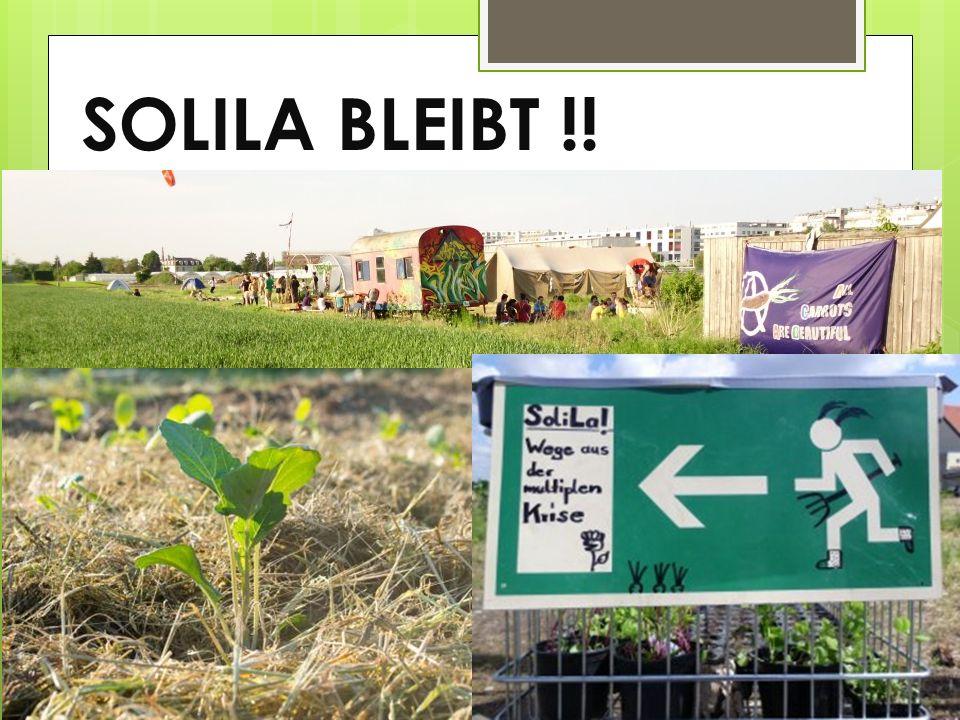 SOLILA BLEIBT !!
