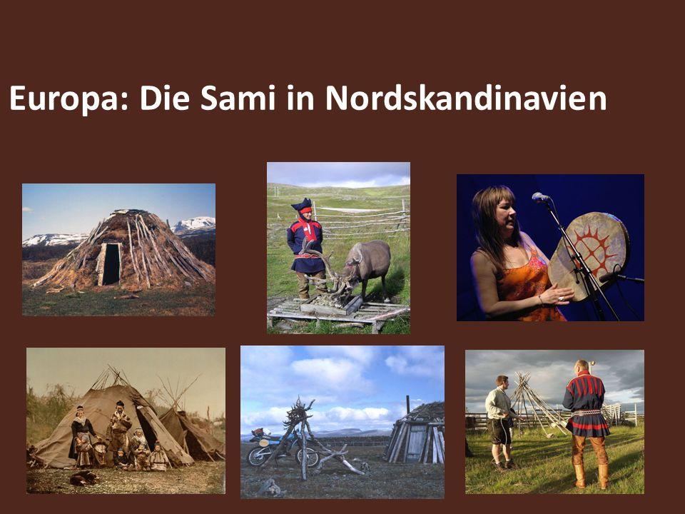 Europa: Die Sami in Nordskandinavien