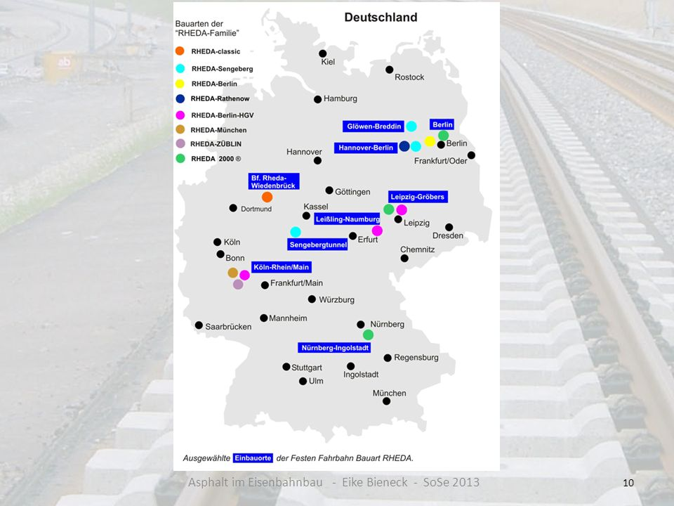 10 Asphalt im Eisenbahnbau - Eike Bieneck - SoSe 2013