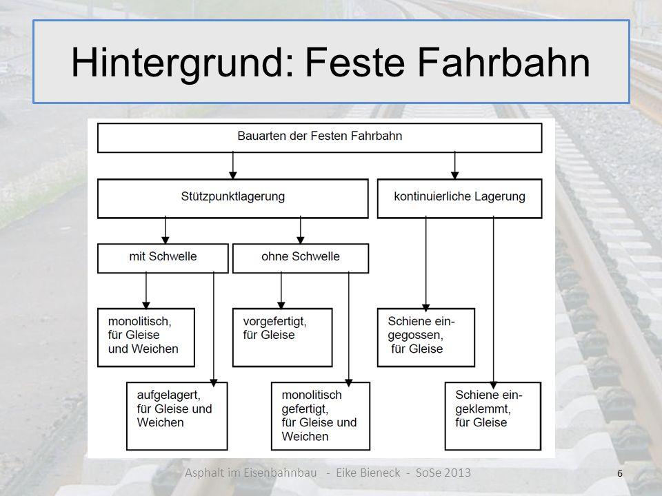 Hintergrund: Feste Fahrbahn 6 Asphalt im Eisenbahnbau - Eike Bieneck - SoSe 2013