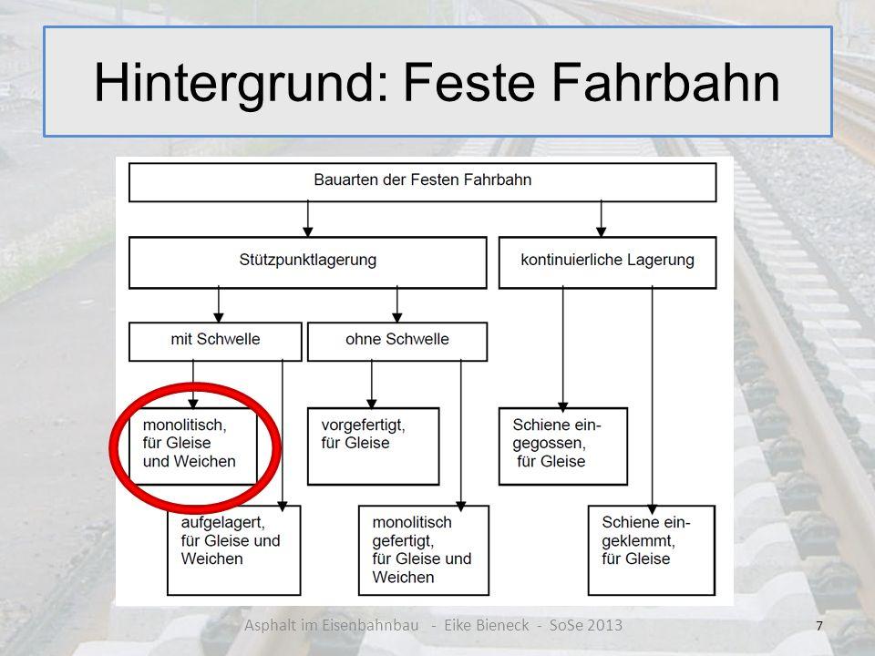 Hintergrund: Feste Fahrbahn 7 Asphalt im Eisenbahnbau - Eike Bieneck - SoSe 2013