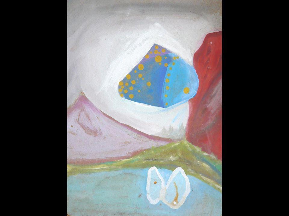 JUGENDSTILFRAU Ei-Tempera auf Schlemmkreidegrund 70x100cm 2008