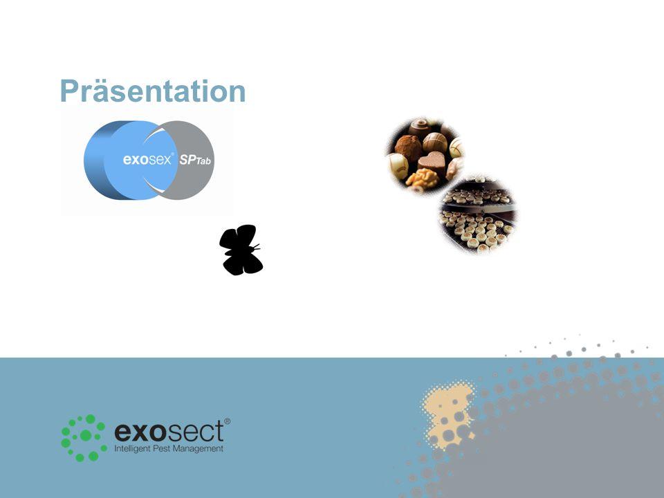 Im Gegensatz zu herkömmlichen Pheromonfallen, die die Mottenanzahl überwachen, handelt es sich bei Exosex SP Tab um ein Auto-Confusion -System, das Pheromone zur Bekämpfung von vorratsschädlichen Motten einsetzt.