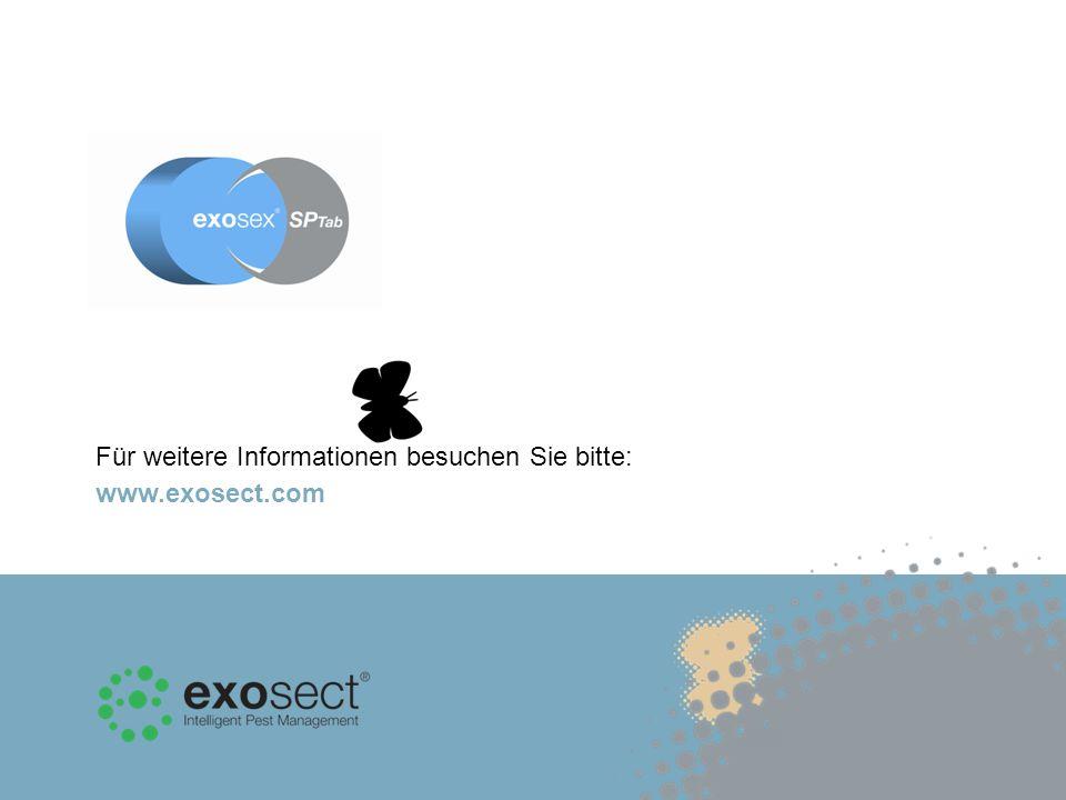 Für weitere Informationen besuchen Sie bitte: www.exosect.com