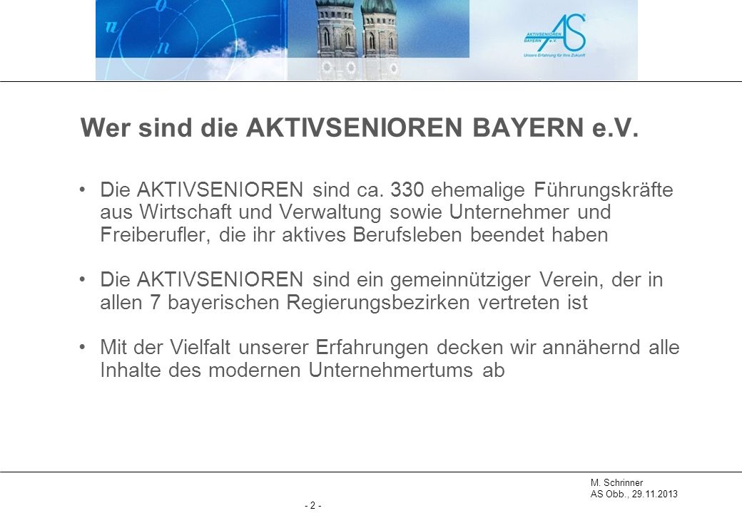 M.Schrinner AS Obb., 29.11.2013 - 3 - Reinhold Heiß, Michael Schrinner AS Obb., Aug.