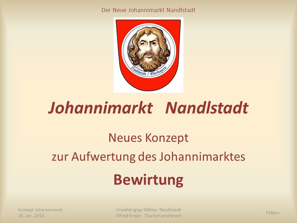 Der Neue Johannimarkt Nandlstadt DANKE Konzept Johannimarkt Dez.