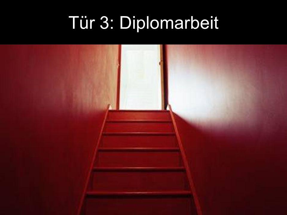 Tür 3: Diplomarbeit