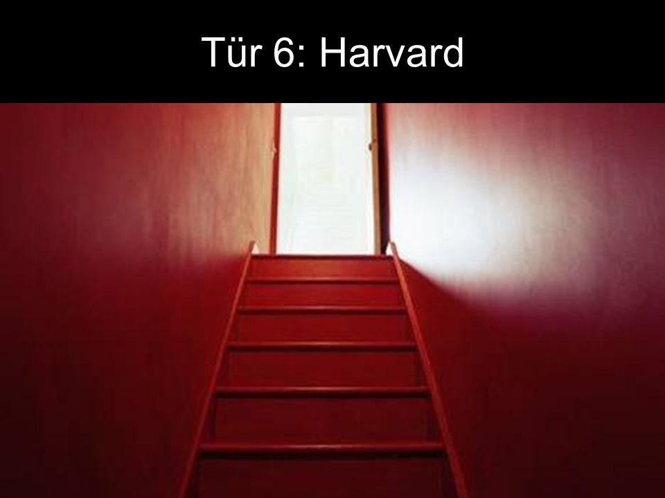 Tür 6: Harvard