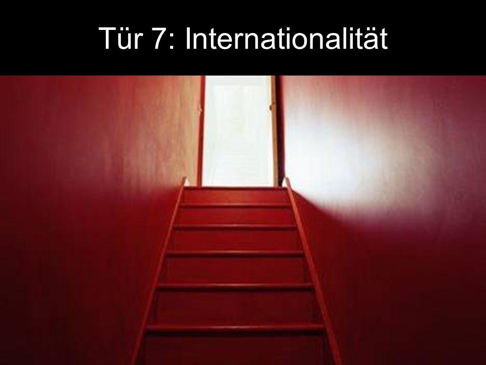 Tür 7: Internationalität
