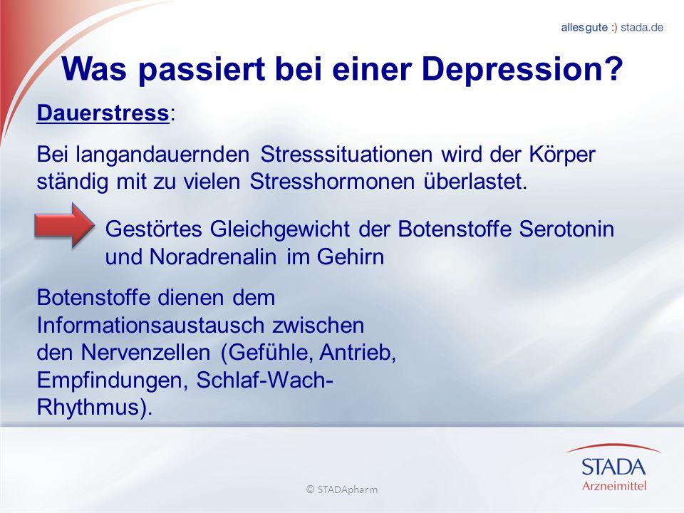 Was passiert bei einer Depression.