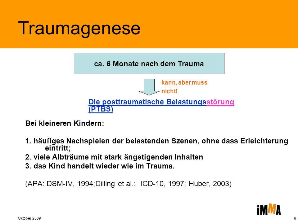 Oktober 20099 D ie komplexe posttraumatische Belastungsstörung 1.