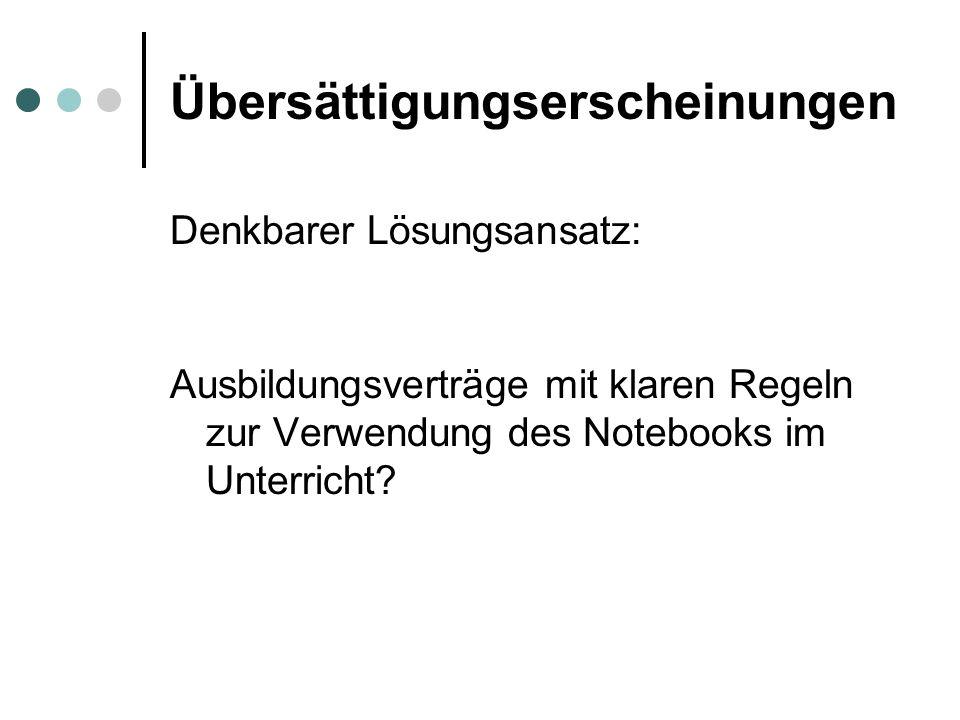 Neue Verunsicherung 1./2.Klassen mit wenigen freiwilligen Notebooks.