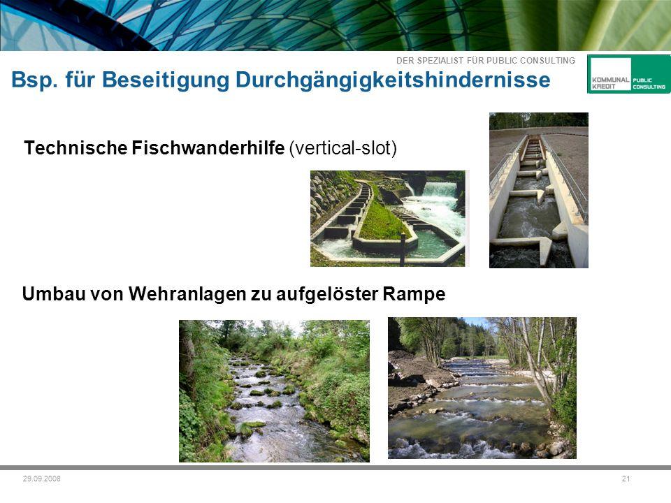 DER SPEZIALIST FÜR PUBLIC CONSULTING 2129.09.2008 Bsp.