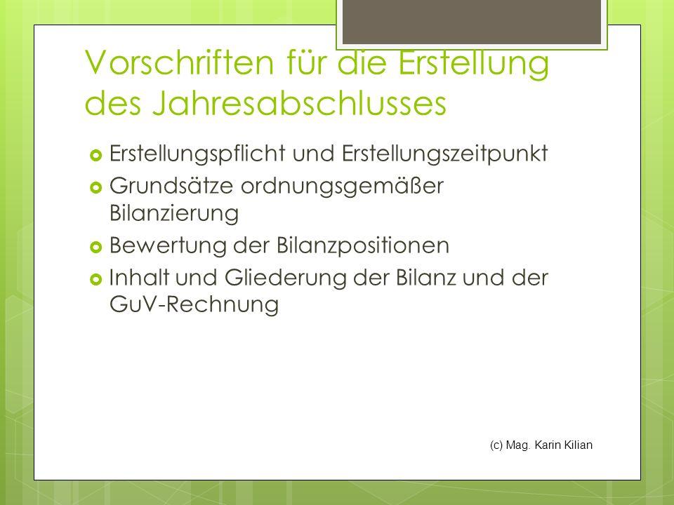 (c) Mag.Karin Kilian Zurechnungsposten Spenden (ausgenommen an begünstigte Empfänger lt.