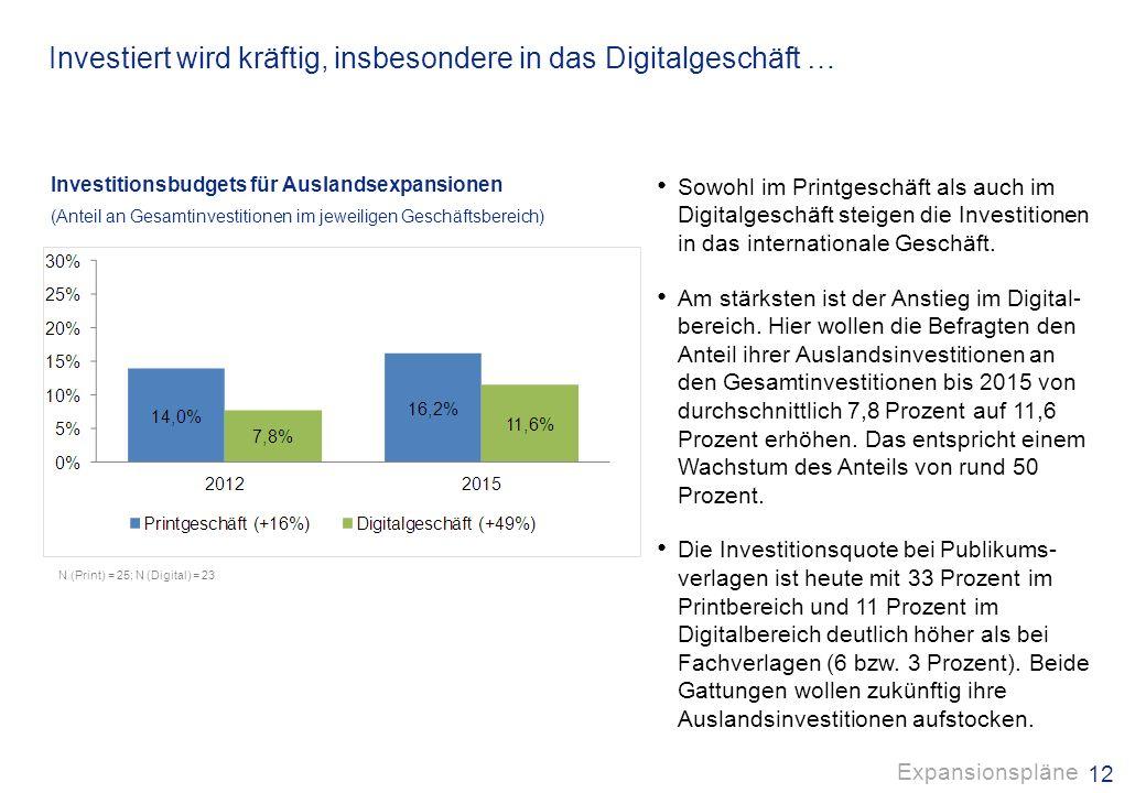 11 Auf zu neuen Ufern - Die Expansion ins Ausland liegt im Trend. In Zukunft gewinnt das Auslandsgeschäft weiter an Bedeutung. Fast 70 Prozent der bef