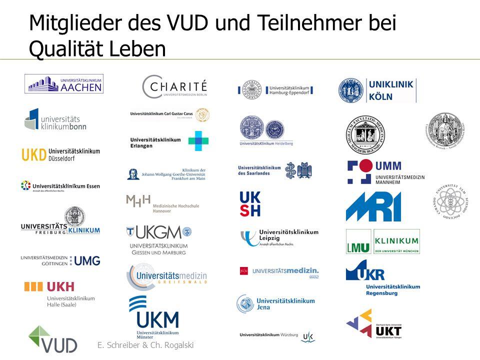 Mitglieder des VUD und Teilnehmer bei Qualität Leben E. Schreiber & Ch. Rogalski