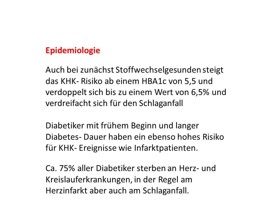 Die blutdrucksenkende Behandlung des älteren Diabetes- Patienten Unter der Therapie sinkt die Gesamtmortalität um relative 14 Prozent.