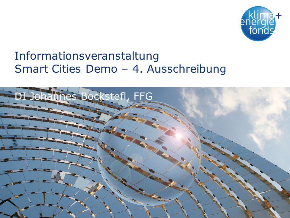 Frequently Asked Questions (FAQs) (I) Wie muss bei Smart City-Demoprojekten die Abschätzung der erwarteten Wirkung mittels quantitativer Angaben erfolgen.