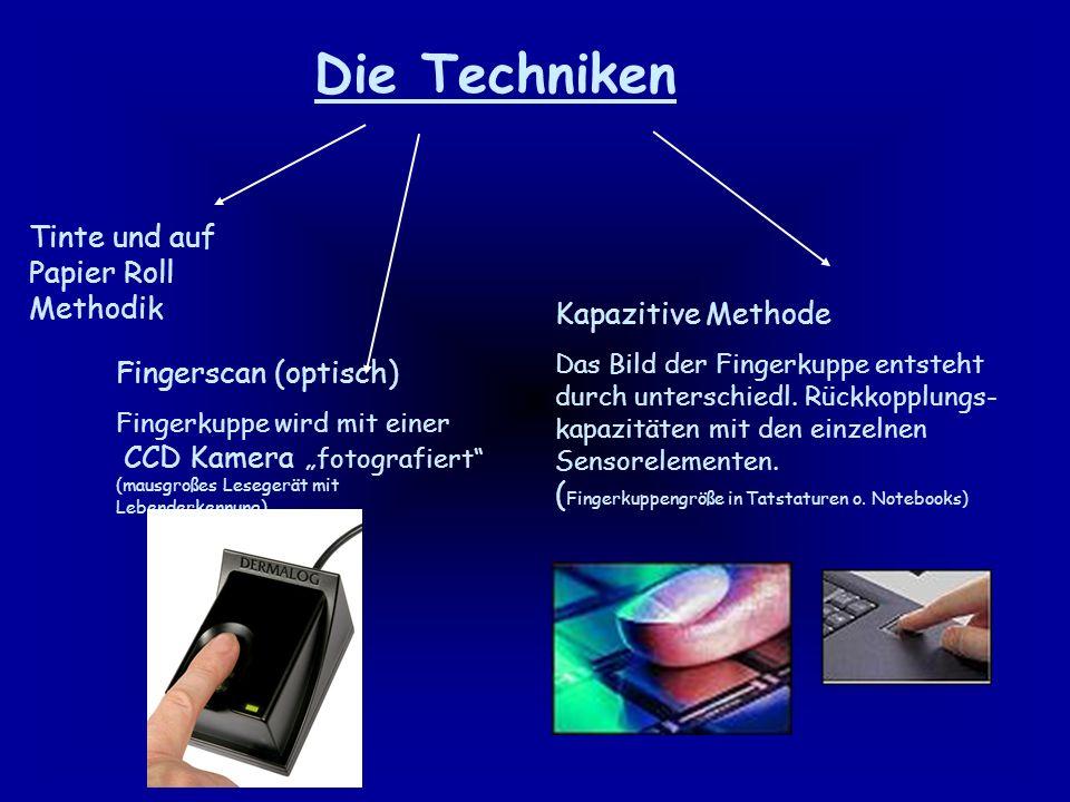 Es wird unterschieden in 4 grundlegende Techniken.