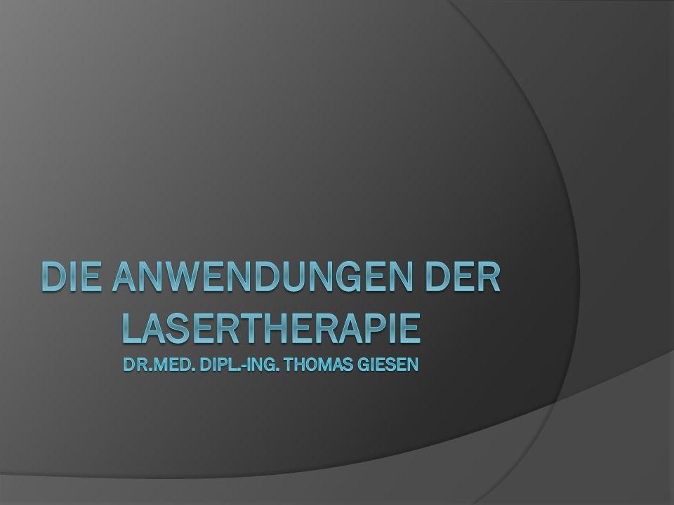 Lasernadelakupunktur: Die Innovation aus der Traditionellen Chinesischen MedizinDer Präsident des Weber Instituts in Göttingen, Dr.
