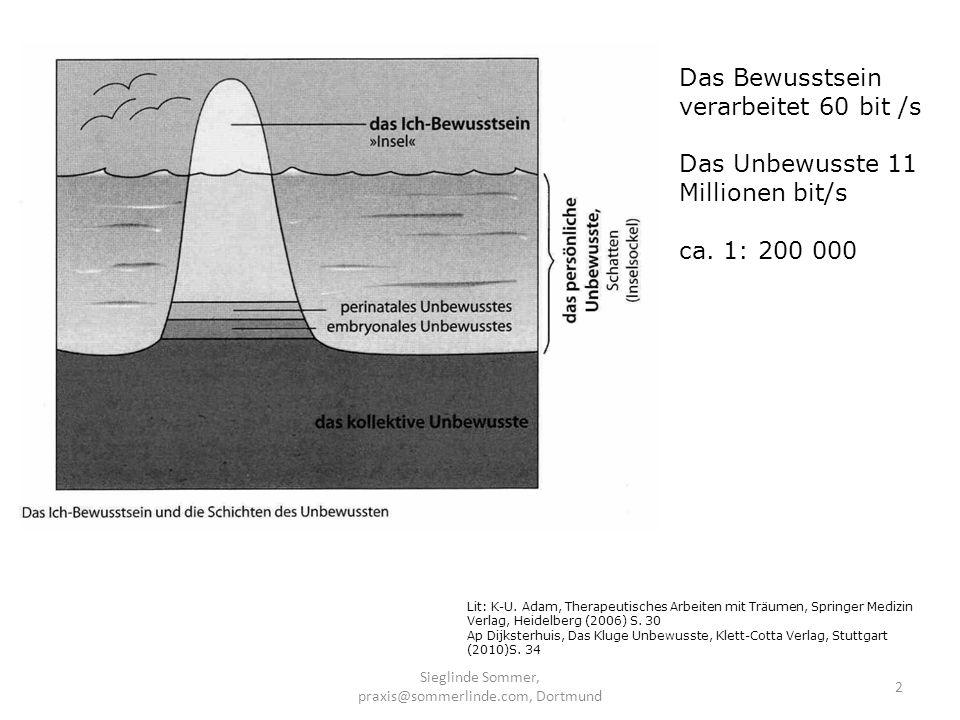 Sieglinde Sommer, praxis@sommerlinde.com, Dortmund 13 Direkte Suggestion du gehst tiefer und tiefer… Suggestion und physikalische Reize während dein Arm höher geht, gehst du tiefer in Trance Visualisierung du gehst die Treppe hinunter; Fahrstuhlmethode Fraktionierte InduktionTrance…rückholen, a.teilweise b.Vollständig (Erickson) Methoden der Trancevertiefung
