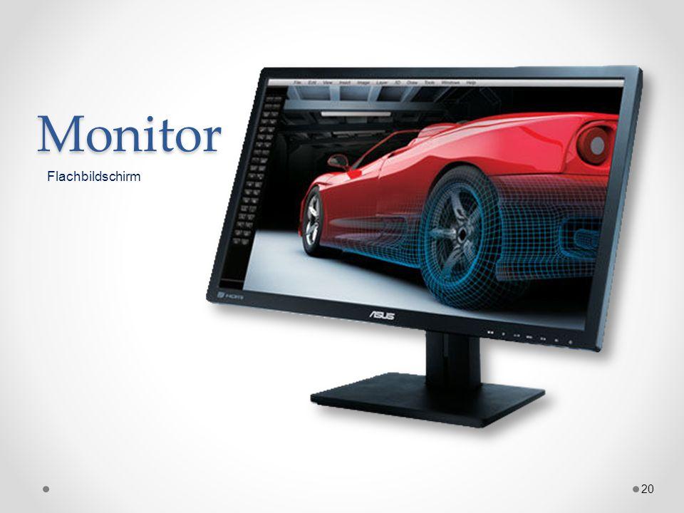 Monitor 20 Flachbildschirm