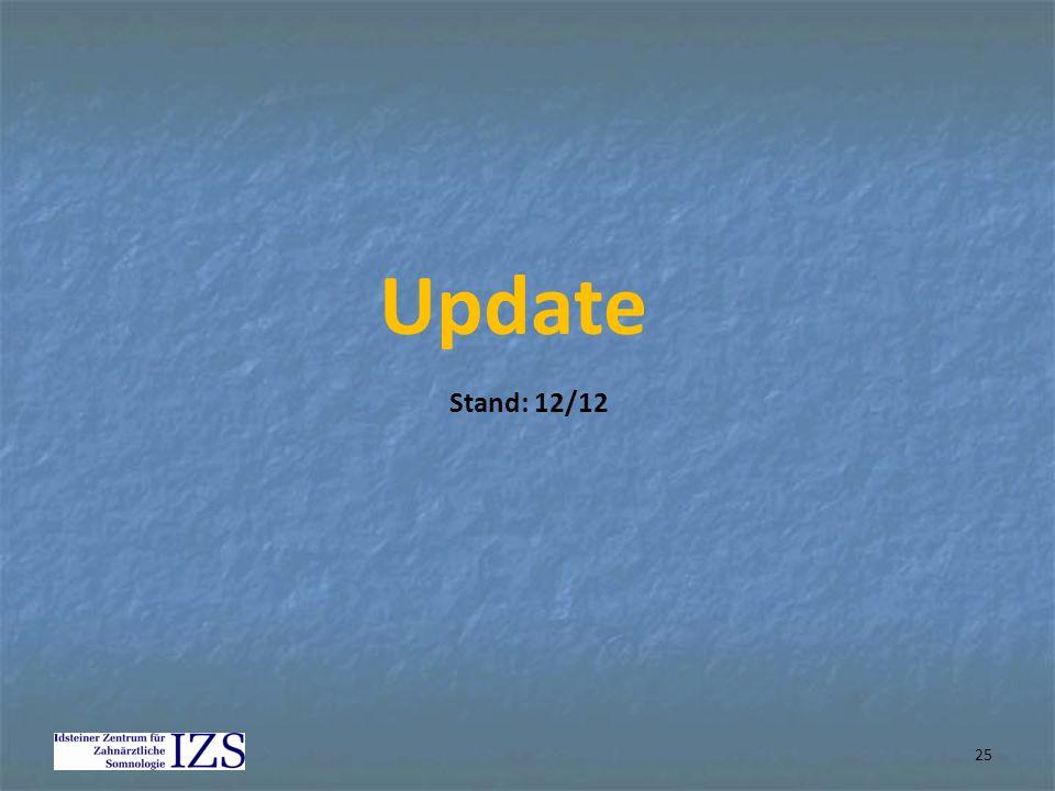 25 Update Stand: 12/12