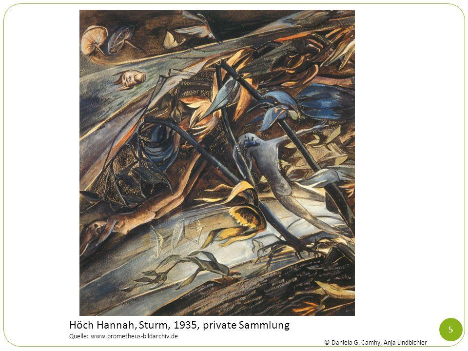 5 Höch Hannah, Sturm, 1935, private Sammlung Quelle: www.prometheus-bildarchiv.de © Daniela G. Camhy, Anja Lindbichler