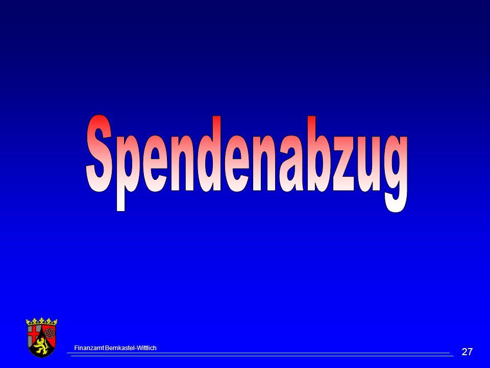 Finanzamt Bernkastel-Wittlich 27