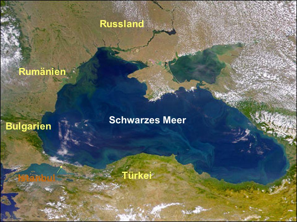 Türkei Istanbul Schwarzes Meer Bulgarien Rumänien Russland