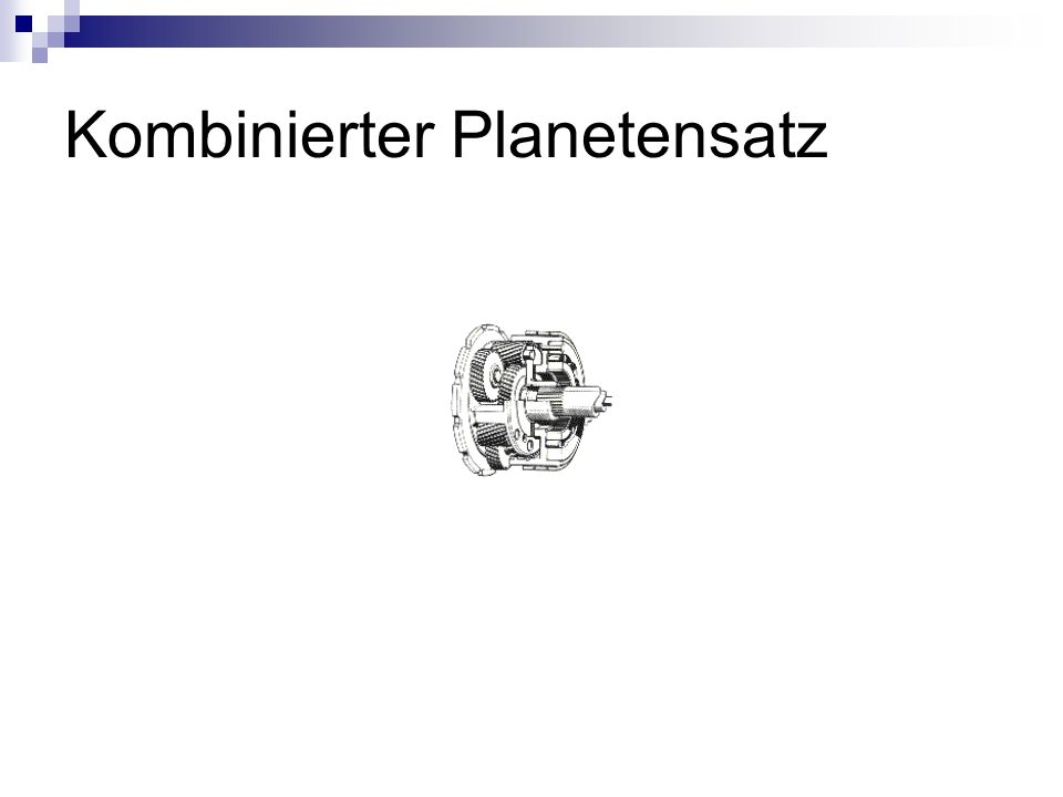Kombinierter Planetensatz