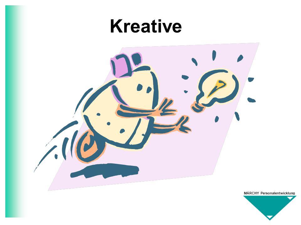 MÄRCHY Personalentwicklung Kreative
