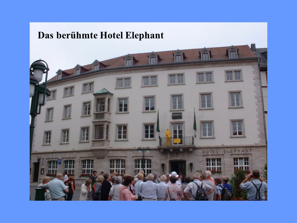 Das berühmte Hotel Elephant