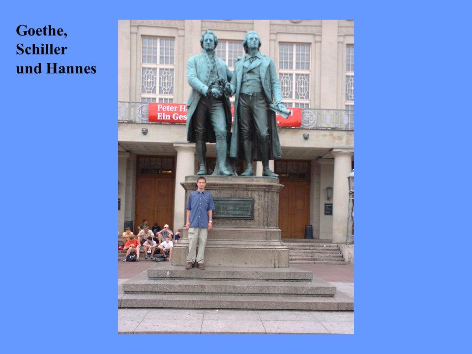 Goethe, Schiller und Hannes