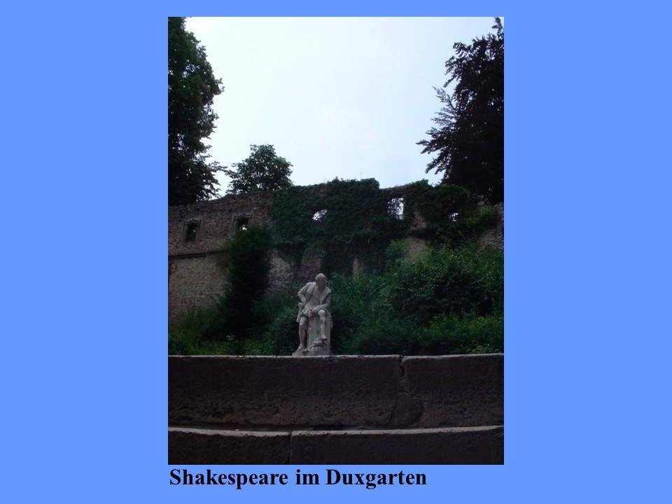 Shakespeare im Duxgarten