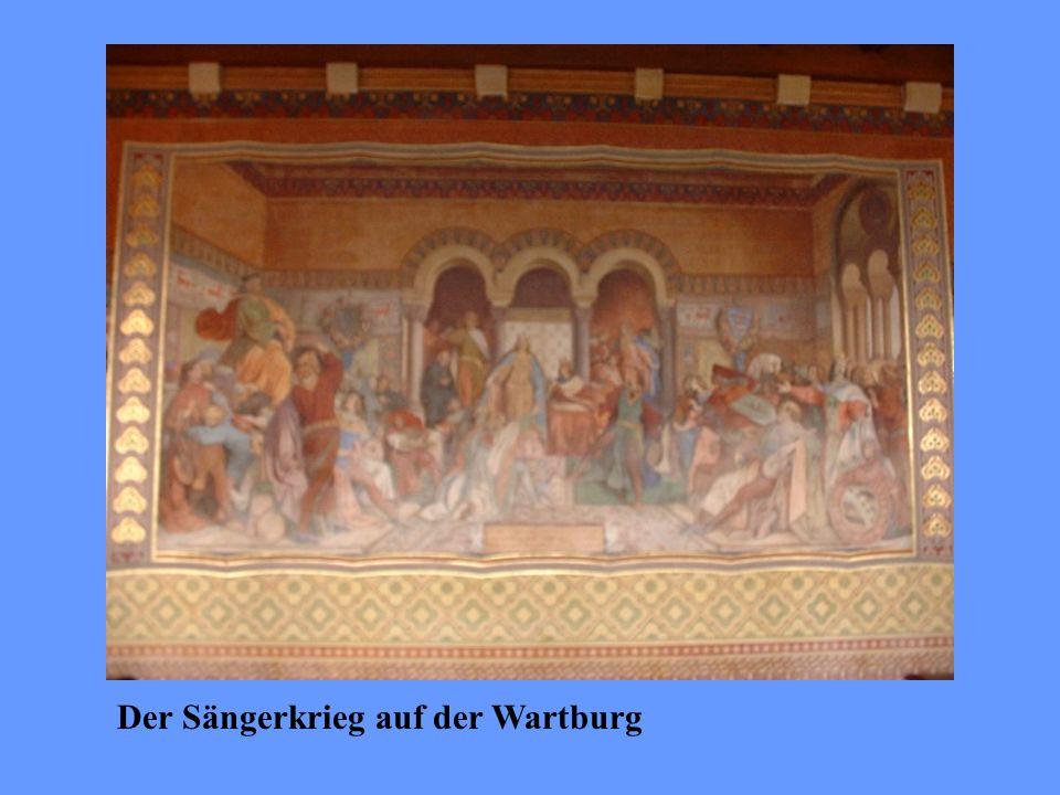 Der Sängerkrieg auf der Wartburg