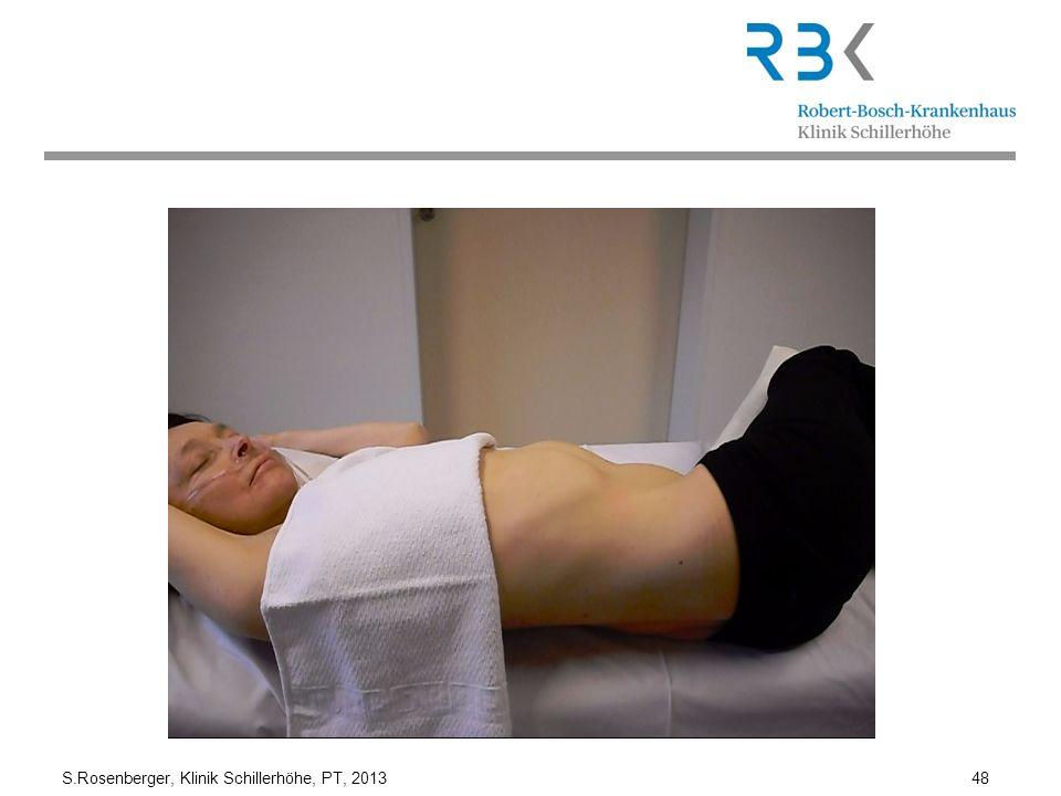 S.Rosenberger, Klinik Schillerhöhe, PT, 2013 48