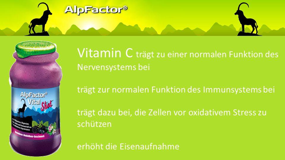 Vitamin C trägt zur normalen Kollagenbildung für eine normale Funktion der Haut bei trägt zu einer normalen Kollagenbildung für eine normale Funktion