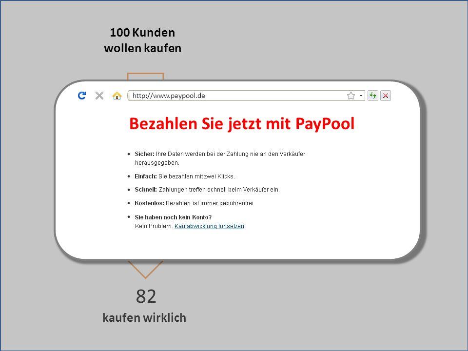 kaufen wirklich 82 Weiterleitung zu fremder Bezahlseite 100 Kunden wollen kaufen Bezahlen Sie jetzt mit PayPool http://www.paypool.de