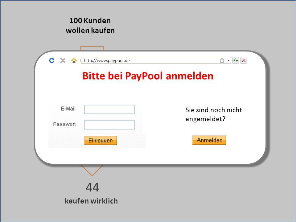 kaufen wirklich 44 Weiterleitung zu fremder Bezahlseite 100 Kunden wollen kaufen Bitte bei PayPool anmelden Sie sind noch nicht angemeldet? http://www