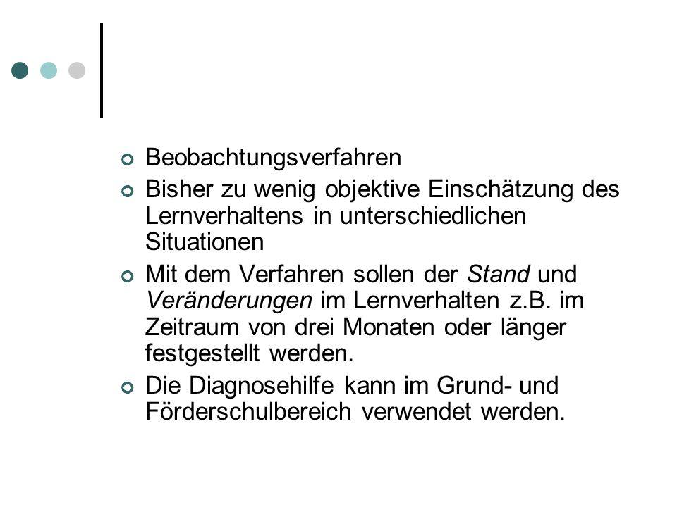 Beispiel: Einschätzung des Lernverhaltens des Schülers F08 im Deutschunterricht der 3.