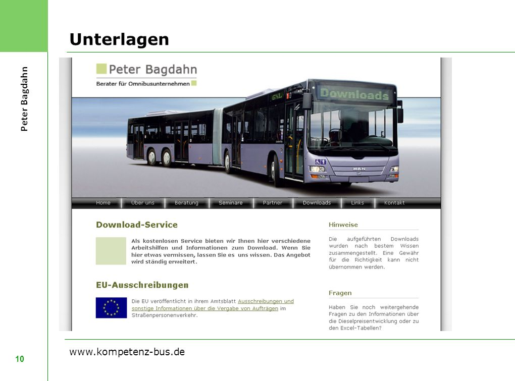 Unterlagen 10 www.kompetenz-bus.de