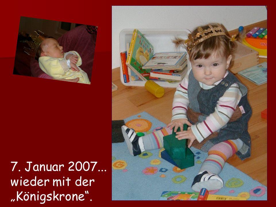 6. Januar 2006... mit der Krone vom Königskuchen.