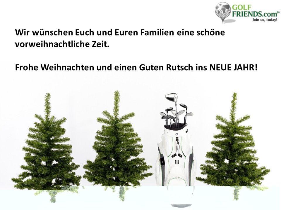 Wir wünschen Euch und Euren Familien eine schöne vorweihnachtliche Zeit.