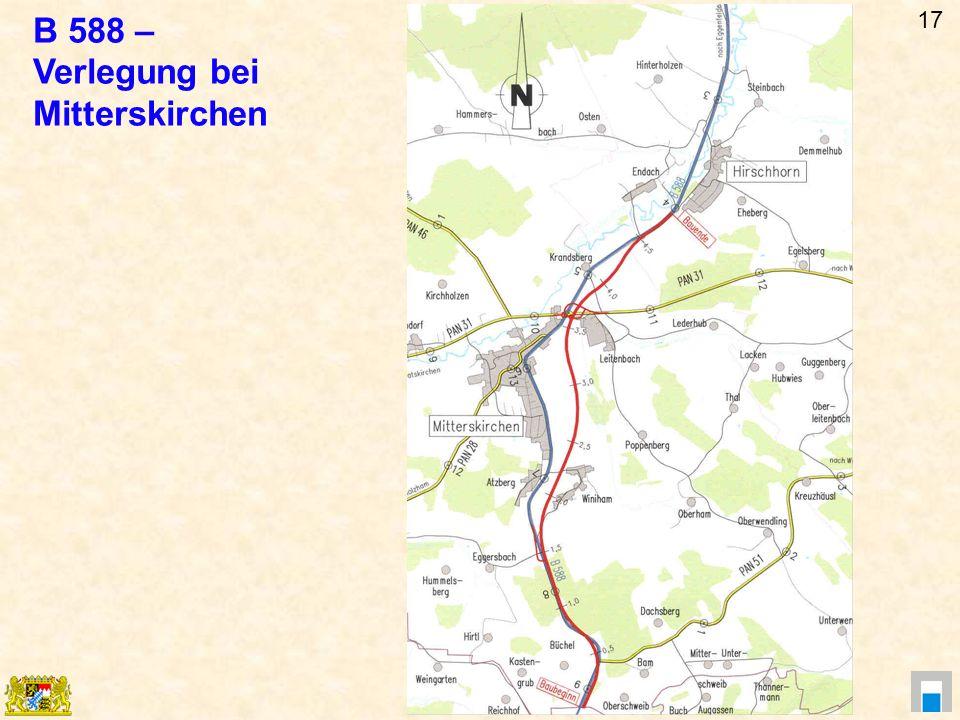 B 588 – Verlegung bei Mitterskirchen 17