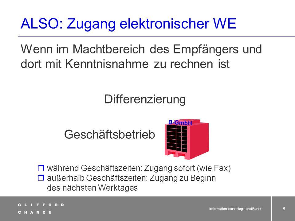 Informationstechnologie und Recht 37 Fernabsatzverträge (§§ 312 ff.