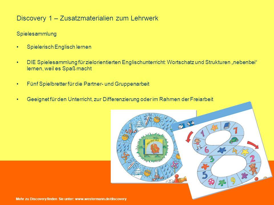Discovery 1 – Zusatzmaterialien zum Lehrwerk Leo-Handpuppe Talk to me.