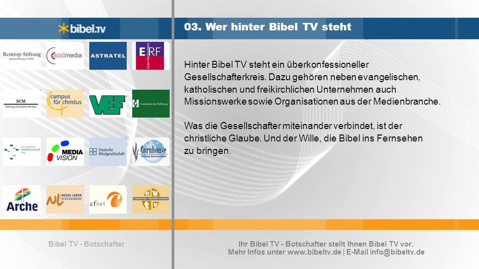 Bibel TV - Botschafter 03.