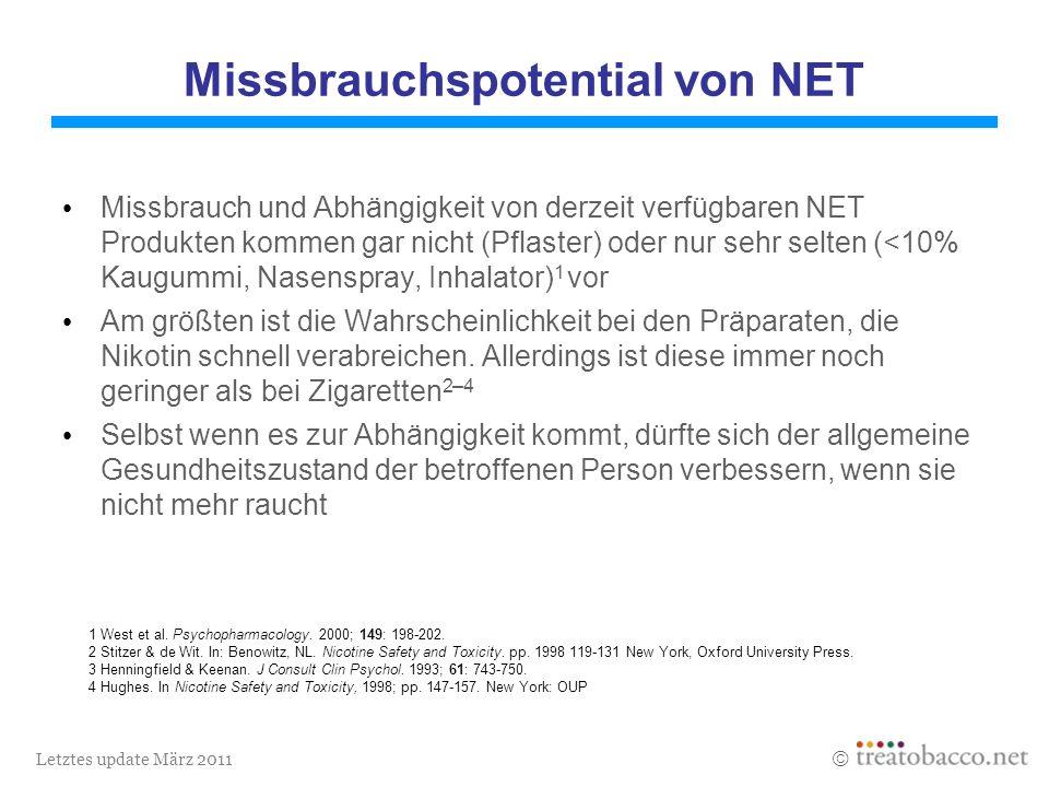 Letztes update März 2011 1 West et al. Psychopharmacology.
